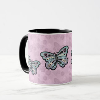 Bold Butterfly mug