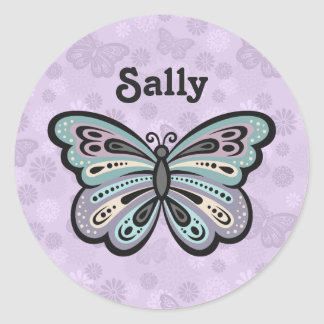 Bold Butterfly stickers