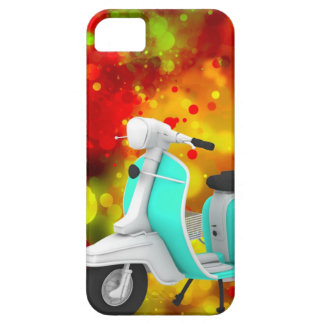 Bold & Chic Scooter Watercolor Abstract Barely There iPhone 5 Case