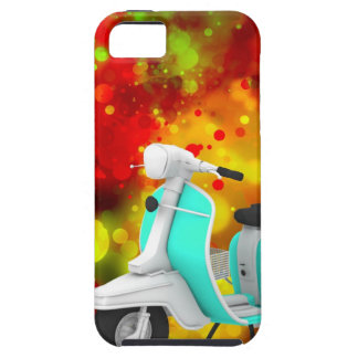 Bold & Chic Scooter Watercolor Abstract iPhone 5 Cases