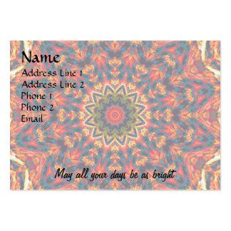 Bold Color Burst Business Cards