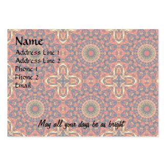 Bold Color Burst Business Card