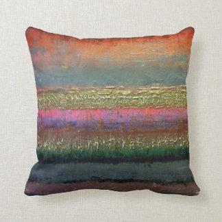 Bold Color Contemporary pillow