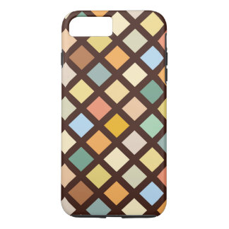 Bold Colorful Diamond Pattrn iPhone 8 Plus/7 Plus Case