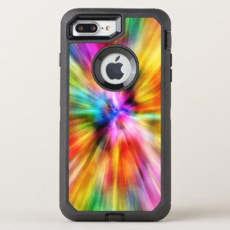 Bold Colorful Modern Abstract OtterBox Defender iPhone 8 Plus/7 Plus Case