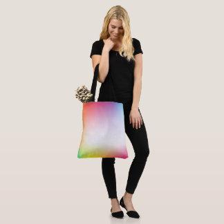 Bold colors, fine graphic design tote bag