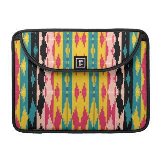 Bold Colors Tribal Aztec Sleeve For MacBook Pro