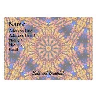 Bold Criss Cross Business Card