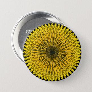 Bold Dandelion 7.5 Cm Round Badge