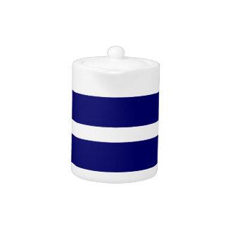 Bold Dark Blue Stripes