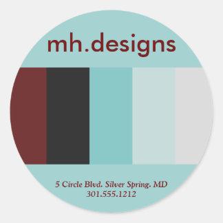 Bold Designer Business Stickers