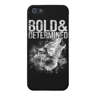 Bold & Determined Wolf iPhone 5/5S Case