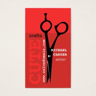 BOLD Elegant MoDern Crafty Dandy Scissors Business Card