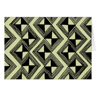 Bold Expresso Africa Note Card