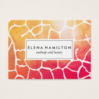 Bold Eye Catching Pattern Business Card