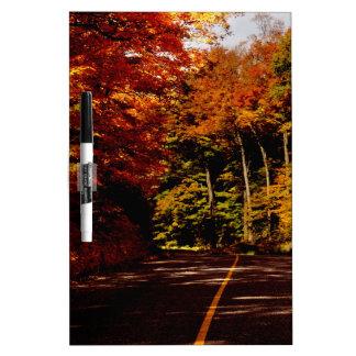 Bold Fall Colours on St Joseph Island Dry Erase Board