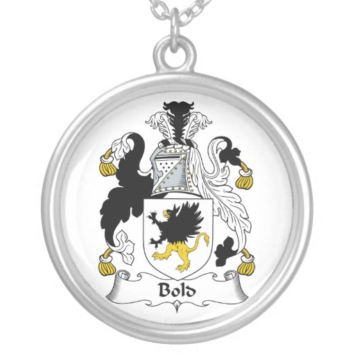 Bold Family Crest Jewelry