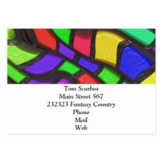 Bold Fantasy Pattern (C) Pack Of Chubby Business Cards