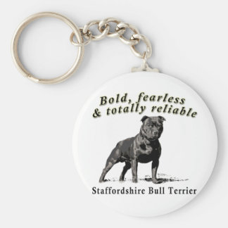 Bold, Fearless & Totally Reliable Key Ring