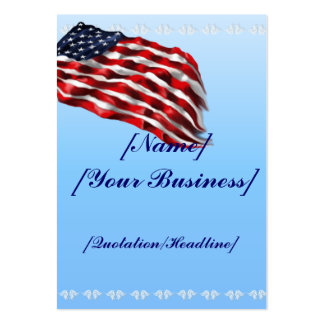 Bold Flag profilecard_chubby_vertical Business Card Template