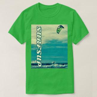 Bold, Fun Kitesurfing Photo Shirt