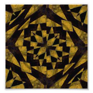 Bold Geometric Photo Print