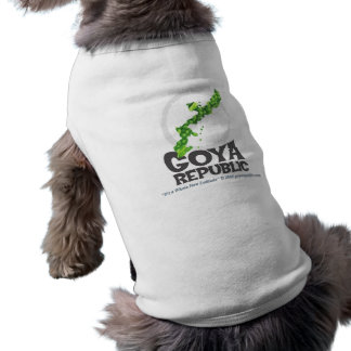 Bold Goya Republic Logo Sleeveless Dog Shirt