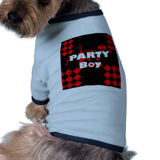 Bold Graphic Design for Boys Who Party Doggie Tee