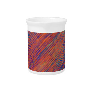 Bold Graphic with Calming Effect Pitcher