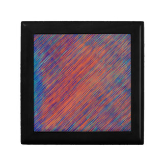 Bold Graphic with Calming Effect Small Square Gift Box