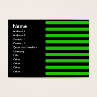 Bold Green and Black Stripes Pattern