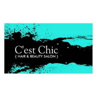 Bold Hair Salon Business Cards