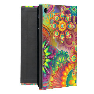 Bold Happy Floral Abstract Case With Stand