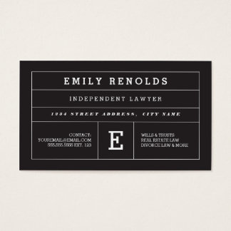 Bold Impression Business Cards