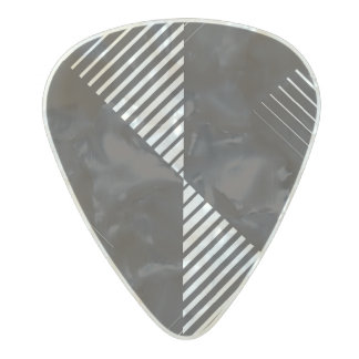 Bold in Black Pearl Celluloid Guitar Pick