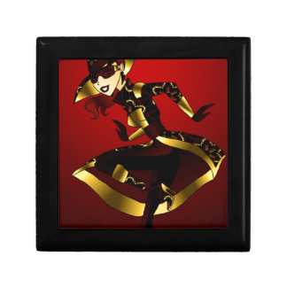 Bold In Red and Gold Gift Box