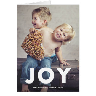 Bold Joy | Folded Holiday Greeting Card