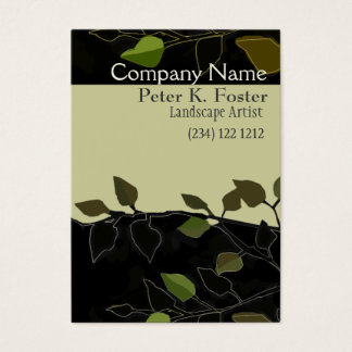 Bold Landscaping Forest-Geen Business Card