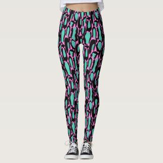 Bold Leopard Print Leggings