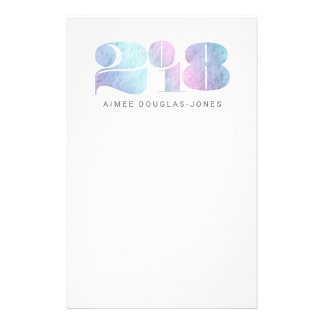 BOLD NEW YEAR(RAINBOW) STATIONERY