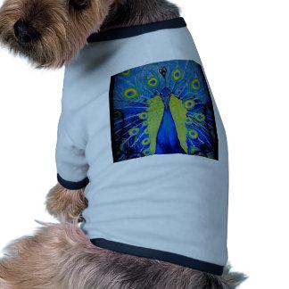 Bold Peacock Doggie Tshirt