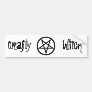 Bold Pentagram Bumper Sticker