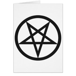 Bold Pentagram Card