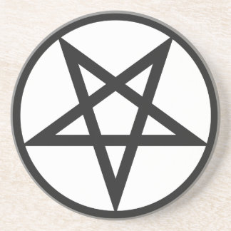 Bold Pentagram Coaster