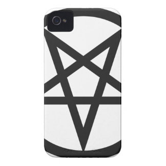 Bold Pentagram iPhone 4 Case