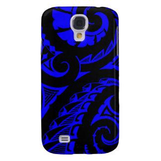 Bold Polynesian maori style tribal design Galaxy S4 Case