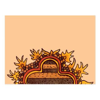 Bold Pre-Columbian Postcard