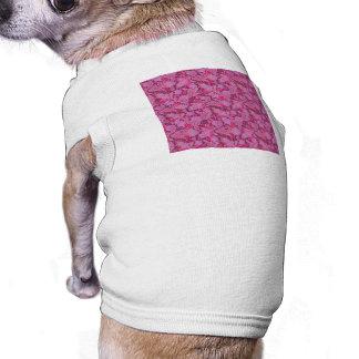 Bold Purple Paisley Pet T-shirt