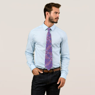 Bold Reaper Foulard Satin Pattern Tie