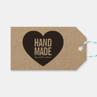 Bold Rustic Handmade Heart Kraft